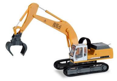 Herpa 308908 - Liebherr Crawler, W/Sorting Grabs