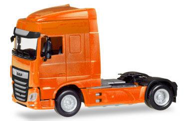 Herpa 309066 - DAF XF Euro 6 SC Orange