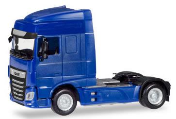 Herpa 309073 - DAF XF Euro 6 SC Blue