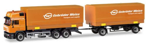 Herpa 309134 - Steyr F 2000 T/T Gebruder Weiss