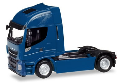 Herpa 309158 - Iveco Stralis Highway, XP Blue
