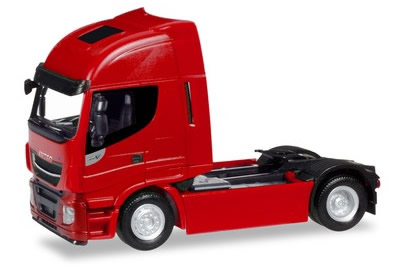 Herpa 309165 - Iveco Stralis Highway, XP Red