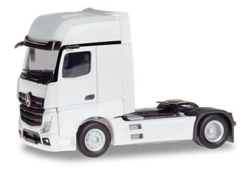 Herpa 309202 - Mercedes Actros Gigaspace White