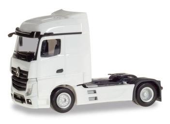Herpa 309226 - Mercedes Actros Streamspace White