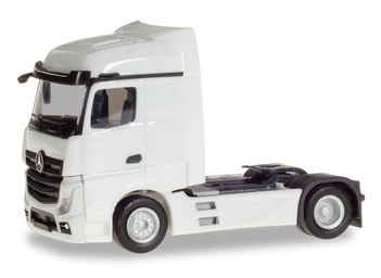 Herpa 309226 - Mercedes Actros Streamspace White