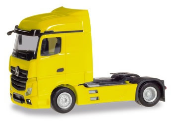 Herpa 309233 - Mercedes Actros Streamspace Yellow