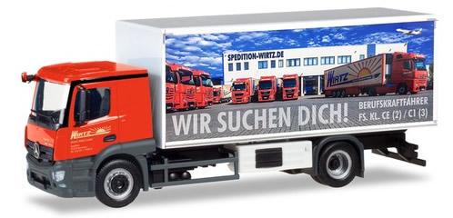 Herpa 309295 - Mercedes Actros Reefer Truck Wirtz