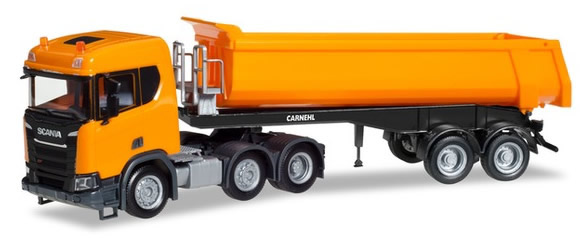 Herpa 309394 - Scania CR ND 6X2, Dump Semi