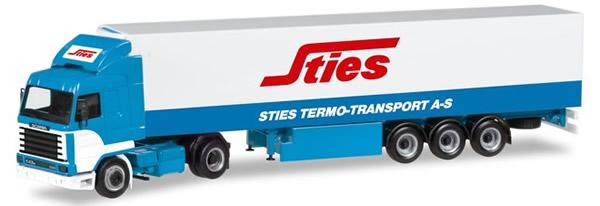 Herpa 309455 - Scania 143 Reefer Semi Sties
