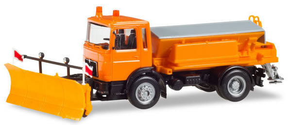 Herpa 309547 - MAN F8 Winter Service Truck Snow Removal