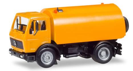 Herpa 309554 - Mercedes S Schorling Street Sweeper