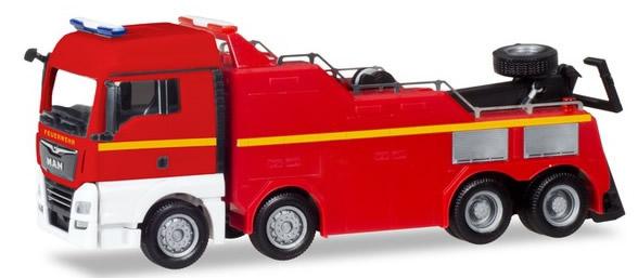 Herpa 309608 - MAN TGX XLX Empl Wrecker Fire Dept