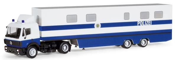 Herpa 309615 - Mercedes SK Semi Police Command Vehicle