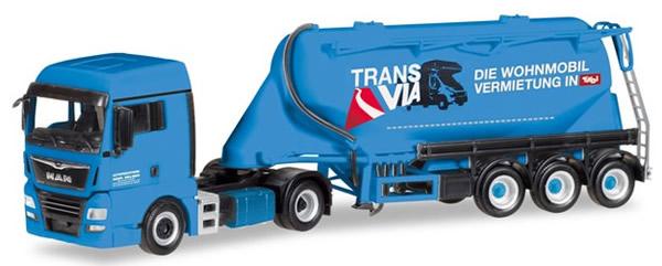 Herpa 309622 - MAN TGX Euro Tanker Semi Melmer