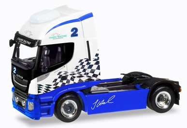 Herpa 309639 - Iveco Stralis Highway XP Hahn Racing