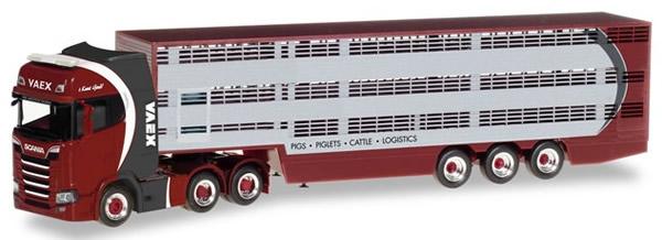 Herpa 309646 - Scania CS Cattle Trailer Vaex