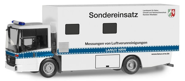 Herpa 309660 - Mercedes Econic Box Truck Police