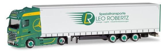 Herpa 309684 - Mercedes Actros Lowliner Semi Leo Robertz