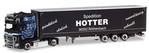 Herpa 309707 - DAF XF SSC Curtain Semi Hotter