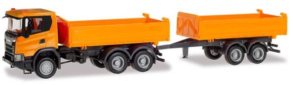 Herpa 309738 - Scania CG 17 T/T Dumper