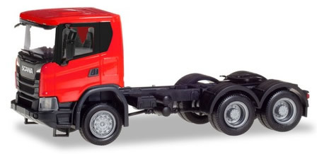 Herpa 309752 - Scania CG 17 Tractor Red