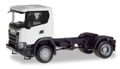 Herpa 309769 - Scania CG 17 Tractor, 2 Axle White