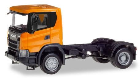 Herpa 309776 - Scania CG 17 Tractor, 2 Axle Orange