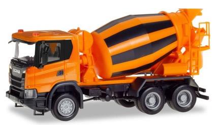 Herpa 309783 - Scania CG Cement Truck