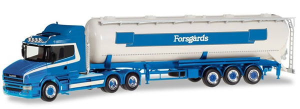 Herpa 309868 - Scania Hauber Silo Semi Forsgard
