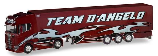 Herpa 309929 - Scania CS 20, Reefer Semi Team Dangelo