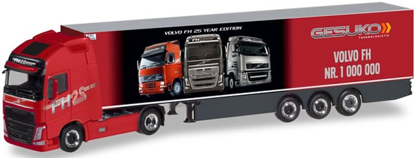 Herpa 310024 - Volvo VF GL XL Reefer Semi Volvo, 1 Million!