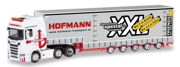 Herpa 310109 - Scania CS20 High Roof, Lights And Bumper