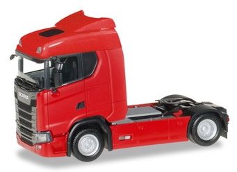Herpa 310185 - Scania CS 20 Low Roof Tractor Red