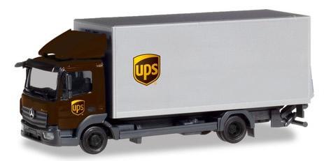 Herpa 310208 - Mercedes Atego Box Truck UPS