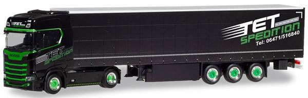 Herpa 310253 - Scania CR 20 HDCurtain Semi Tet Spedition