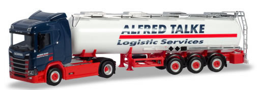 Herpa 310383 - Scania CR 20 Tanker Semi Alfred Talke