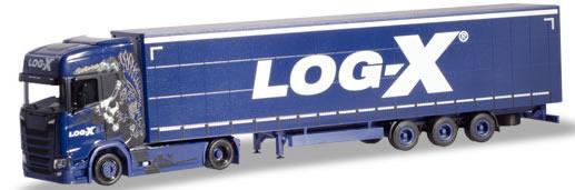Herpa 310413 - Scania CS 20 Semi Log-X