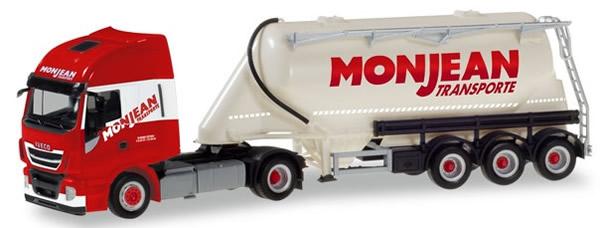 Herpa 310451 - Iveco Stralis Bulk Tanker Semi Monjean