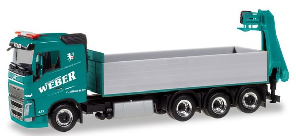 Herpa 310475 - Volvo FH Dump Truck W/Hoist Weber
