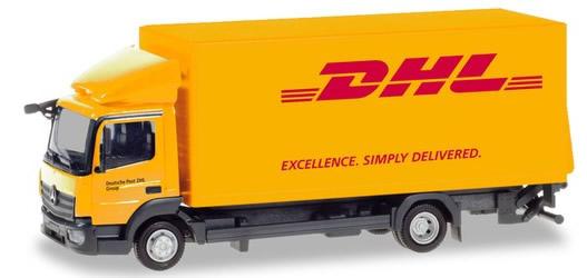 Herpa 310505 - Mercedes Atego Box Truck DHL