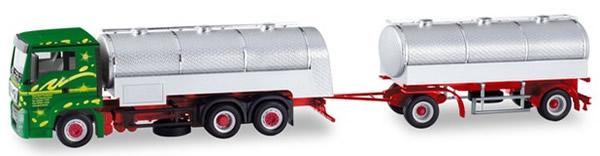 Herpa 310536 - MAN TGS Milk Tanker T/T Hans Gick