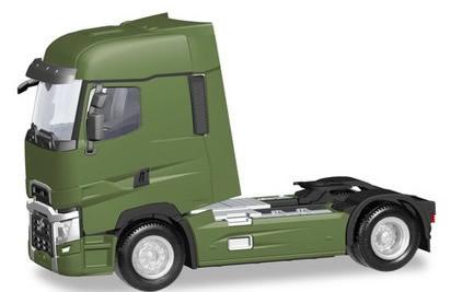 Herpa 310642 - Renault T Tractor Green