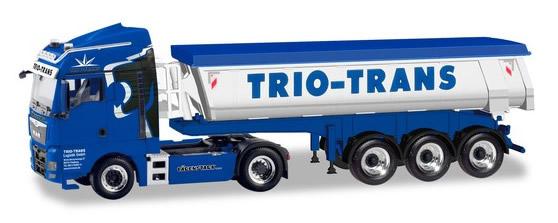 Herpa 310673 - MAN TGX Dump Semi Trio Trans