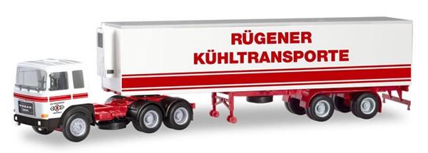 Herpa 310680 - Roman Diesel Semi Rugener Transporte