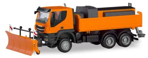 Herpa 310727 - Iveco Trakker 6X6 Winter Service
