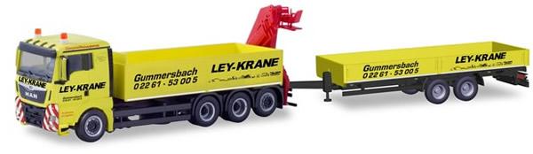 Herpa 310741 - MAN TGX XL Dump T/T W/Hoist Nordhein/Westfalen