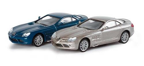 Herpa 33206 - Mercedes-Benz SLR MC Laren, metallic