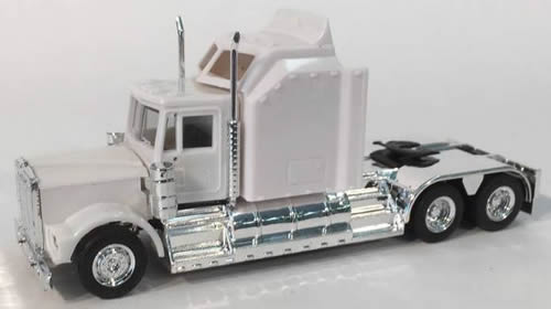 Herpa 35234 - New Kenworth W-900, Unptd Large Aerodyne Sleeper