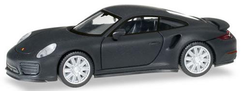 Herpa 38713 - Porsche 911 Turbo, Chrome Rims