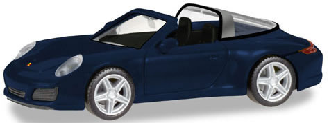 Herpa 38867 - Porsche 911 Targa 4 Blue Metallic